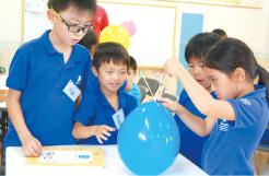 風船の最も圧力の小さい場所を見つけた「Balloon Skewer」